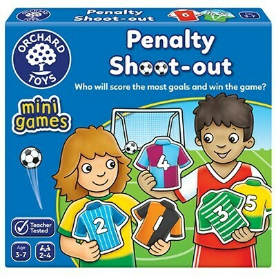 Orchard Toys Penalty Shoot Out Mini Game Ηλικίες 3-7 ετών