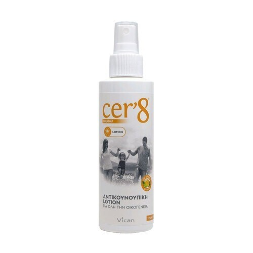 Vican Cer '8 Αντικουνουπική Lotion 125ml
