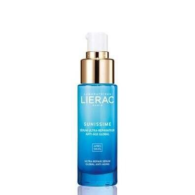Lierac Sunissime Ultra-Repair Serum Global Anti-Aging Face and Decollete 30ml
