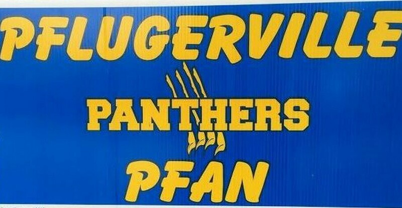 Panther Pfan Yard Sign