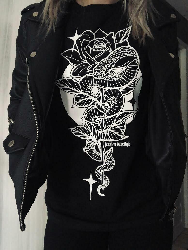 Snake and Rose T-shirt
