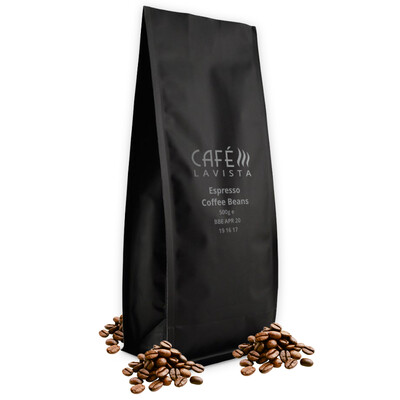 CAFÉLAVISTA Espresso Beans (3 x 500g Bags)