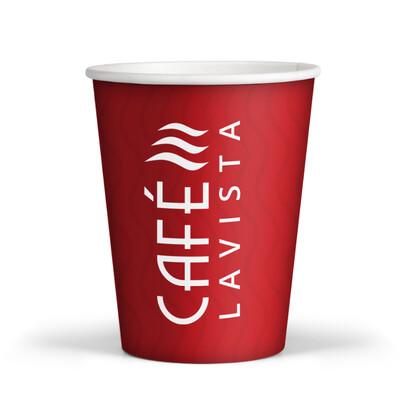 CAFÉLAVISTA 10 oz Disposable Cups (100/1000)