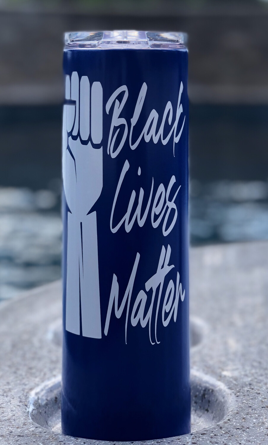 BLM Blue & White