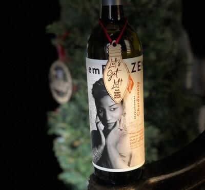 Let Get Lit-Wine Charm