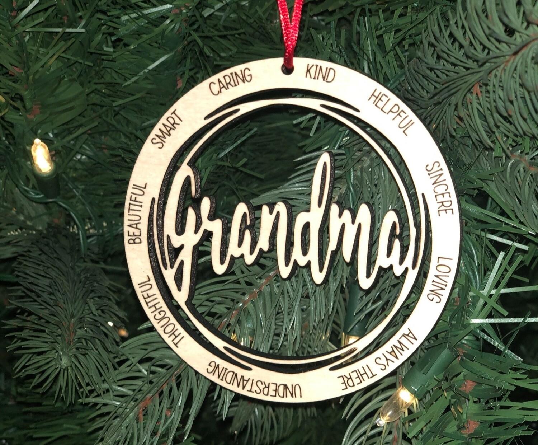 Ornament-Grandma