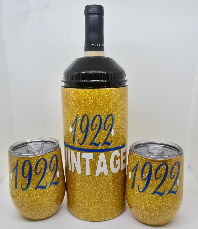 Wine Chiller Set-Vintage