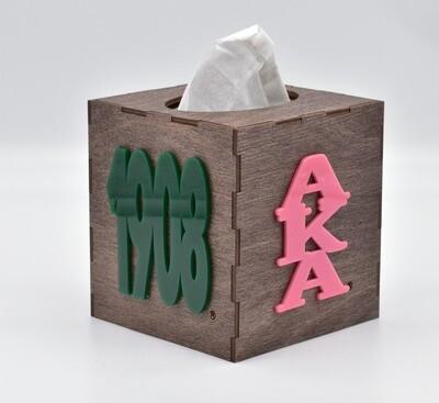 Tissue Box Cover- AKA/1908