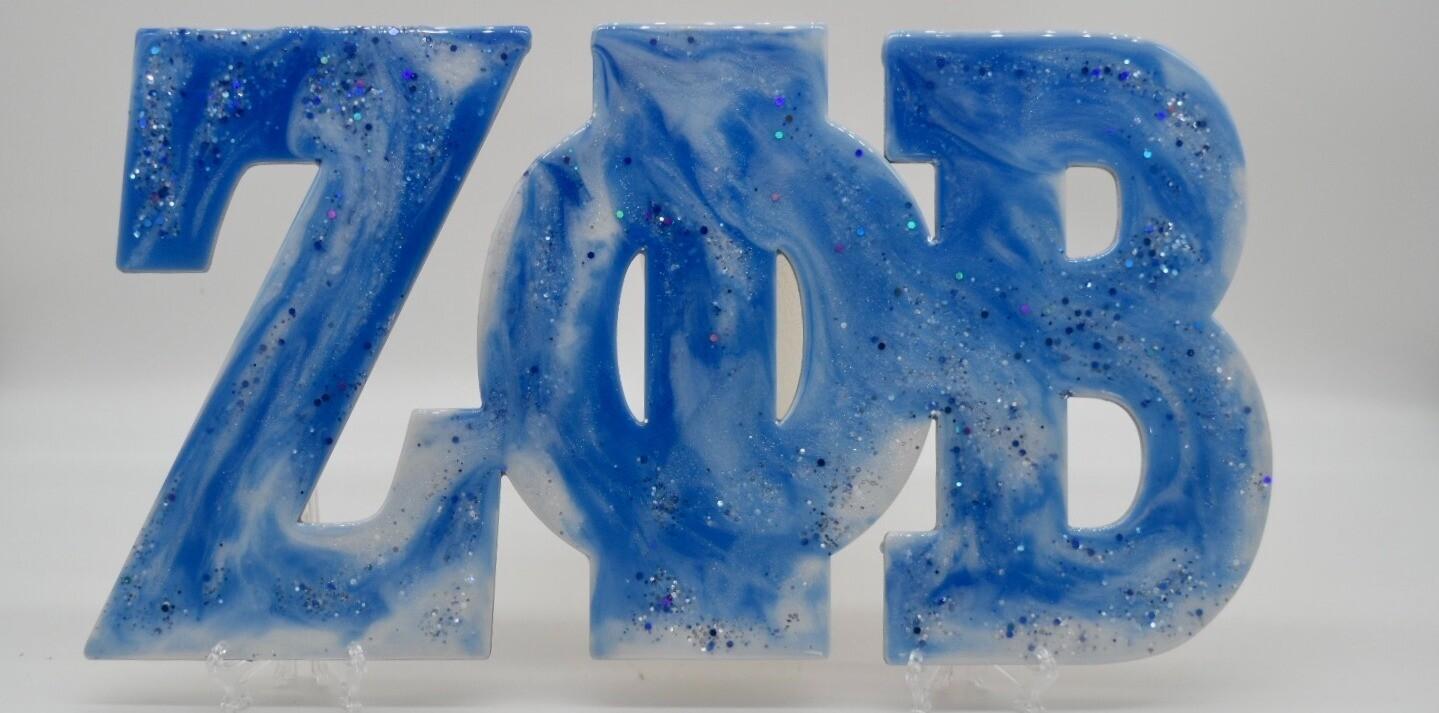 ZPB Wood & Epoxy Sign