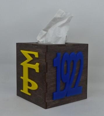 Tissue Box Cover- SGR/1922