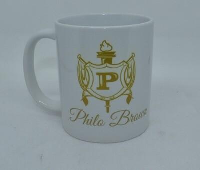 Philo Shield & Name Mug