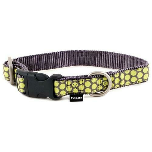 PetSafe Fido Finery Martingale Style Collar (3/4 Small, Dotted Bliss)