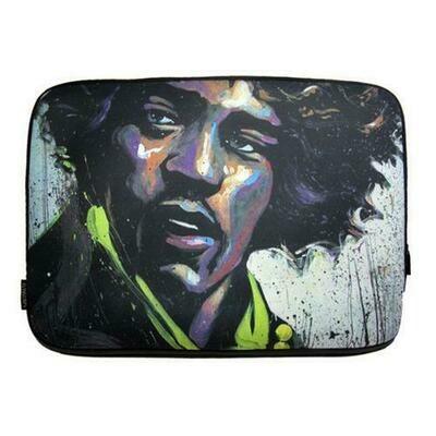 David Garibaldi - Hues of Hendrix, Zippered Neoprene 10 Netbook/Tablet Sleeve