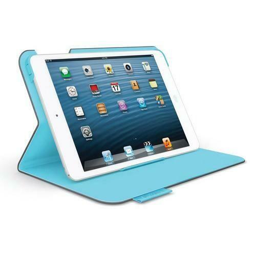 Logicool Folio Protective Case for iPad mini, Dark Grey