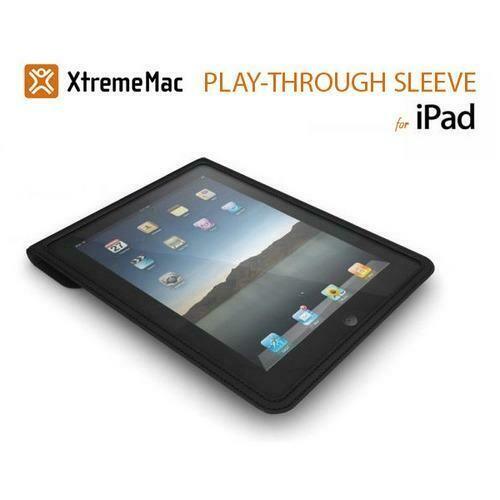 Xtrememac Play-Through Sleeve for iPad - Black