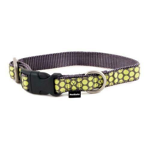 PetSafe Fido Finery Quick Snap Collar (Medium, Dotted Bliss)