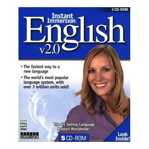 Instant Immersion English v2.0 for Windows and Mac