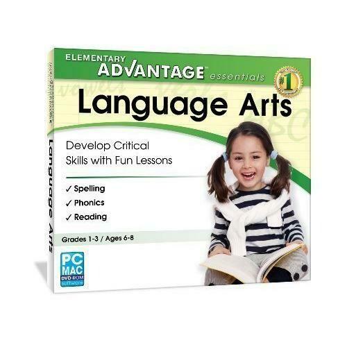 Elementary Advantage Essentials: Language Arts (Grades 1-3)