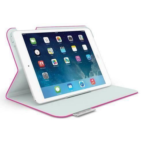 Logicool Folio Protective Case for iPad mini, Fantasy Pink