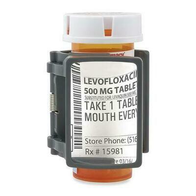 Carson RX-55 MagRX 2.5x Clip-On Medicine Bottle Magnifier