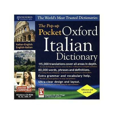 The Pop-Up Pocket Oxford Italian Pocket Dictionary for Windows