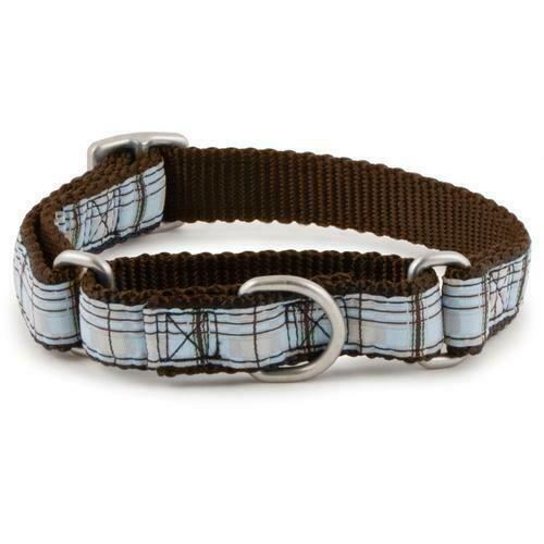 PetSafe Fido Finery Quick Snap Collar (Large, Summer Plaid)