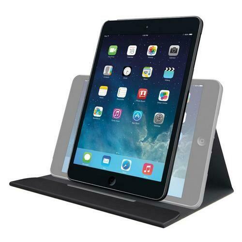 Logitech Turnaround Carrying Case for iPad Air - Intense Black ()