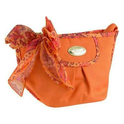 Jacki Design Summer Bliss Cosmetic Bag, Orange