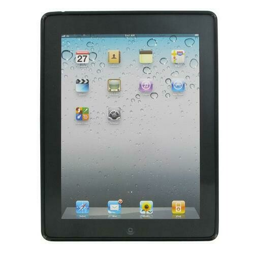 XtremeMac Tuffwrap Shine Case for iPad 2/3/4 (Black Stripe)