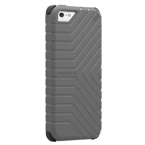 PureGear GripTek Advanced Impact Rubberized Protection Case for iPhone 5C, Gray