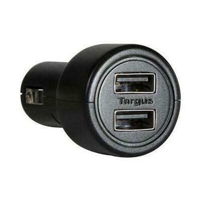 Targus Dual USB 12V Cigarette Lighter Adapter Car Charger for iPad & Tablets