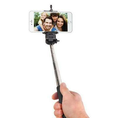 Smart Gear 42 Extendable Monopod Selfie Stick, Black