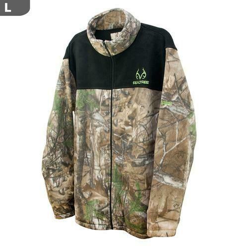 "Realtree Men""s Rt-Xtra & Black Panels Jacket, Large"
