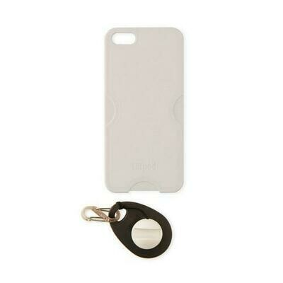 Tiltpod 4-in-1 Camera Tripod Phone Case Keychain Stand for iPhone 5 White