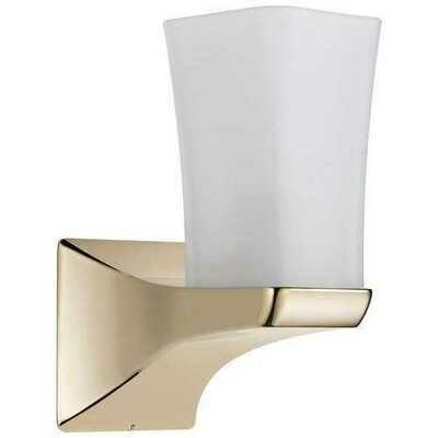 Delta Faucet Delta 75270 Tesla Bathroom Sconce Light LAMP Brilliance Polished Nickel