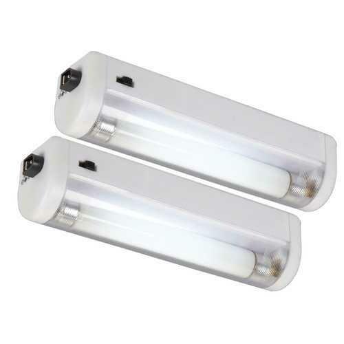 AmerTac 2-Pack White Fluorescent Utility Lite 73026LA