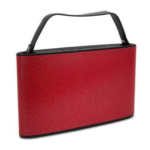 Cipe Handbag-Style Bluetooth Wireless Speaker & Powerbank, Red