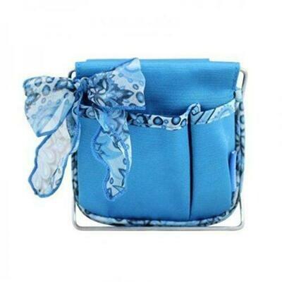 Jacki Design Summer Bliss Small Accessory Organizer, Blue