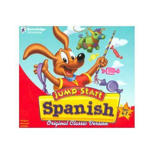 Knowledge Adventure JumpStart Spanish for Windows and Mac