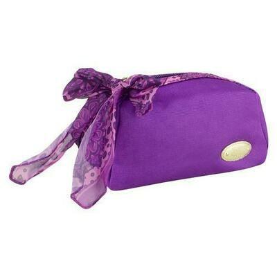 Jacki Design Summer Bliss Cosmetic Pouch, Purple
