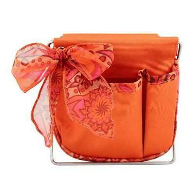 Jacki Design Summer Bliss Small Accessory Organizer, Orange
