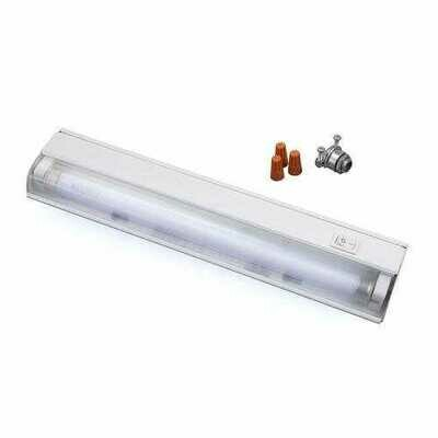 Amertac FA413HB 12.5 Wire-In 8-Watt Fluorescent Slim Cabinet Light