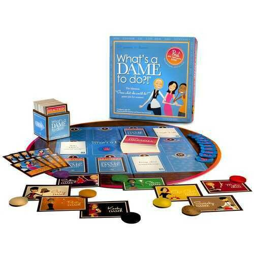 """What""""s a Dame To Do? Girls Womens Night Adult Board Game"""