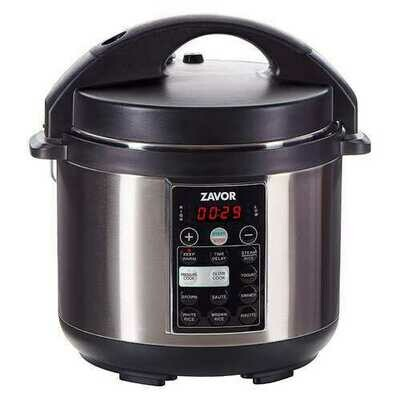 Zavor LUX 4 Quart Electric Pressure Multi Slow Cooker Stainless Steel