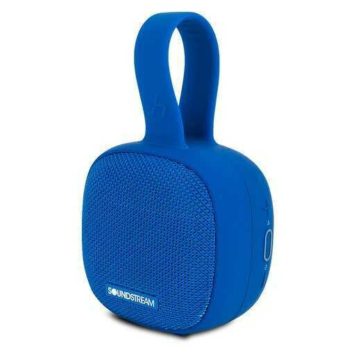 Soundstream h2GO IPX7 Waterproof Portable Bluetooth Speaker, Blue ()