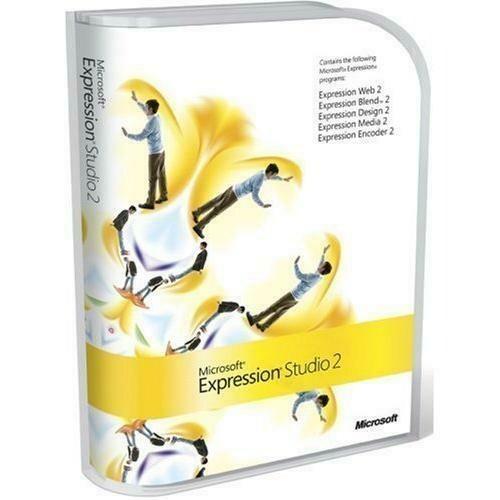 Microsoft Expression Studio 2 for Windows (Upgrade)