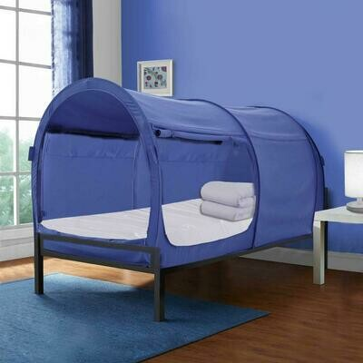 TWIN NAVY BLUE BED TENT