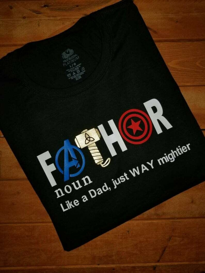 Fathor shirt, Fathers day gift, Husband Daddy Hero Shirt, Husband Gift, Daddy Gift, Protector Tshirt, New Father Gift, Shirts, Unisex