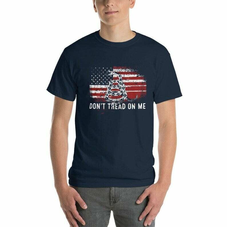 Chris T Shirt - Dont Tread On Me Shirt - Pratt Shrit - gadsden flag shirt