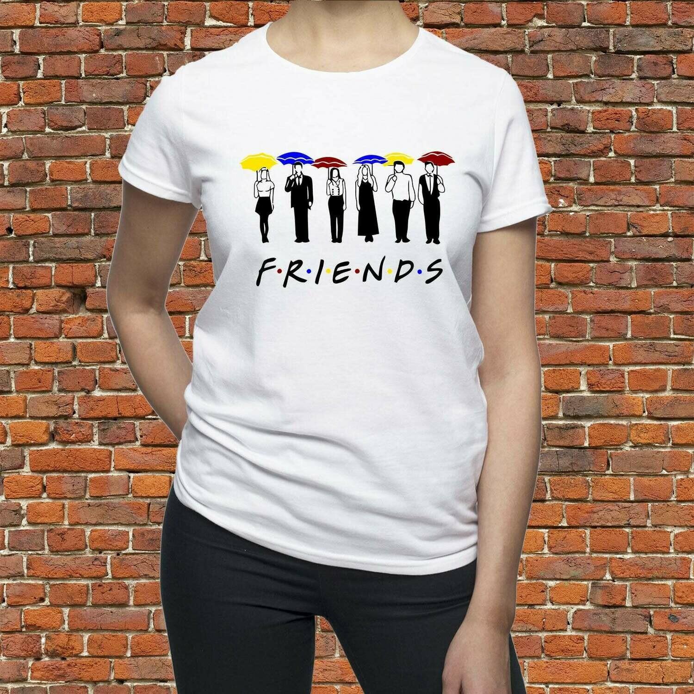 Friends Tv Show shirt/ Friends TV umbrellas shirt/ Friends t-shirt/ Friends Tv series tee/ womens shirt/ for women/ for man/ Gift for/